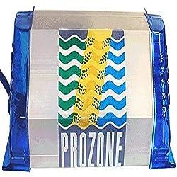 "commercial Prozone Aquatic Products PZ1 220V Ozone System, 8 x 3-1 / 2"" x 3 "", Silver hot tub ozonator"