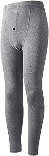 Icegrey Mens Ultra Soft Thermal Underwear Bottoms Leggings Grey XXS