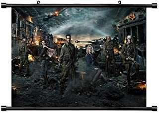 Stalingrad Movie Poster Fabric Wall Scroll Poster (32x20) Inches