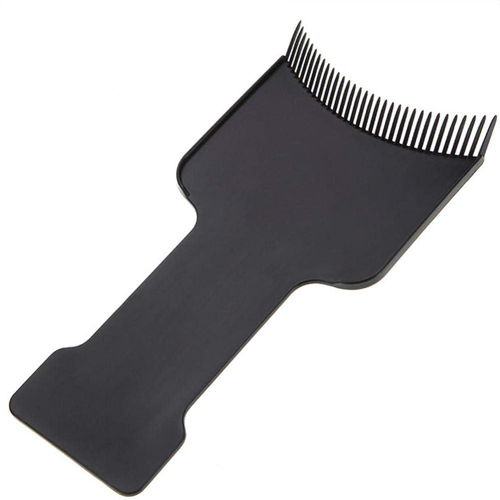 印象的な兵隊バラ色SILUN 理髪ヘアカラーボード 理髪サロン髪 着色染色ボードヘアトリートメントケアピックカラーボードコーム理髪ツール プロフェッショナルブラックヘアブラシボード理髪美容ツール