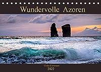 Wundervolle Azoren (Tischkalender 2022 DIN A5 quer): Landschaftfotos, die die Vilefalt der Azoreninseln zeigen (Monatskalender, 14 Seiten )