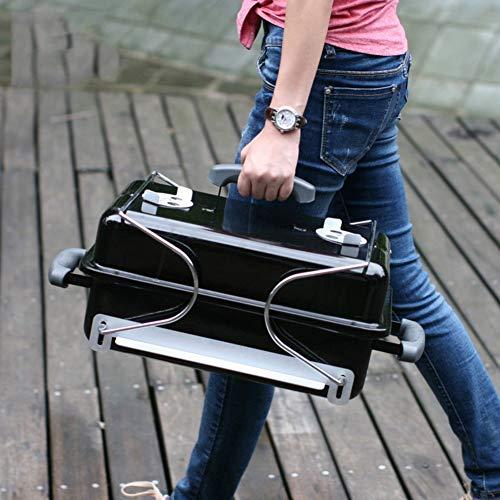 51CWrk+lMeL. SL500  - ZTMN Tragbarer Holzkohlegrill im Freien, Faltbarer Grill Grillplatz für Camping Wandern Grillwerkzeug-A 43x29x38cm (17x11x15inch)