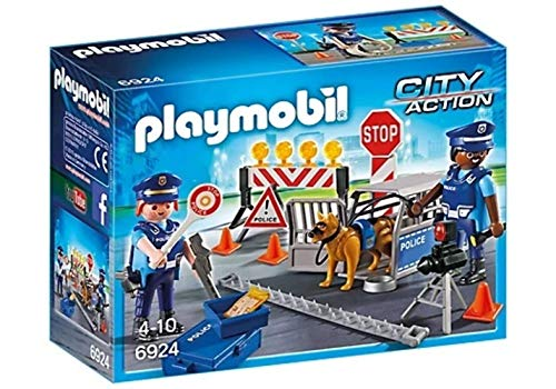 Playmobil 6924 City Action Police Roadblock, Multi