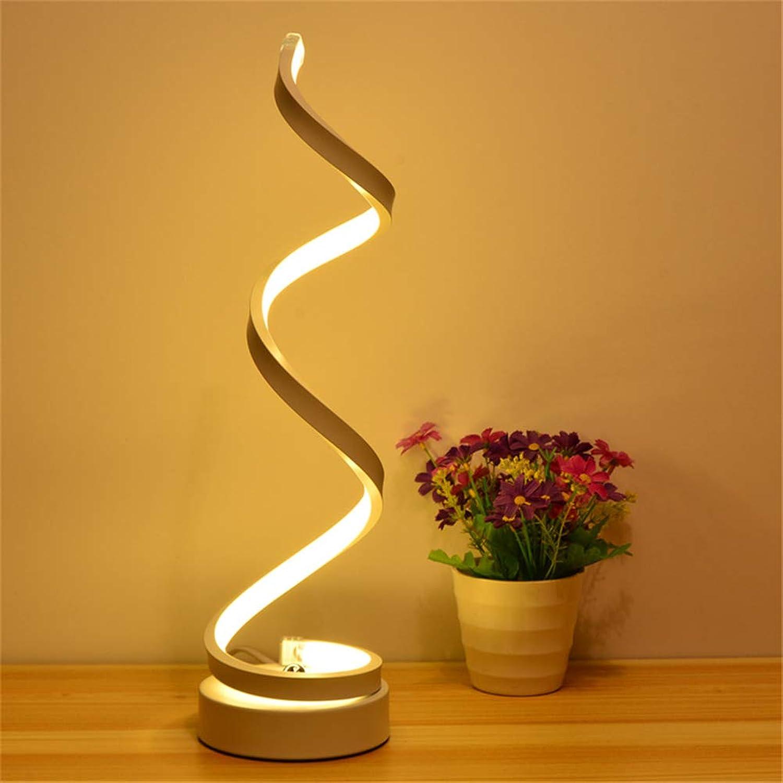 BOJOK Minimalistische Kunst Linien Tischlampe Musiknoten Schlafzimmer Tisch Schreibtisch Licht Raum Studie Licht Lesen Nachttischlampe Leselampe Touch Lampe (03,Gold)