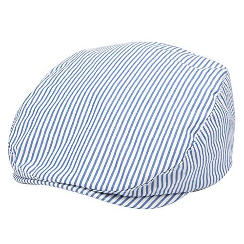 Foruhoo Kinder Schiebermütze für Jungen, Baby Baskenmütze Kapppe Hüte Cap (50, Licht Blau)