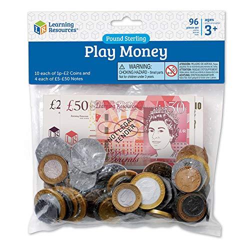 Learning Resources LSP2629-MUK Spielgeld Großbritannien