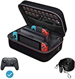iVoler Carrying Storage Case for Nintendo Switch, Portable Travel All Protective...