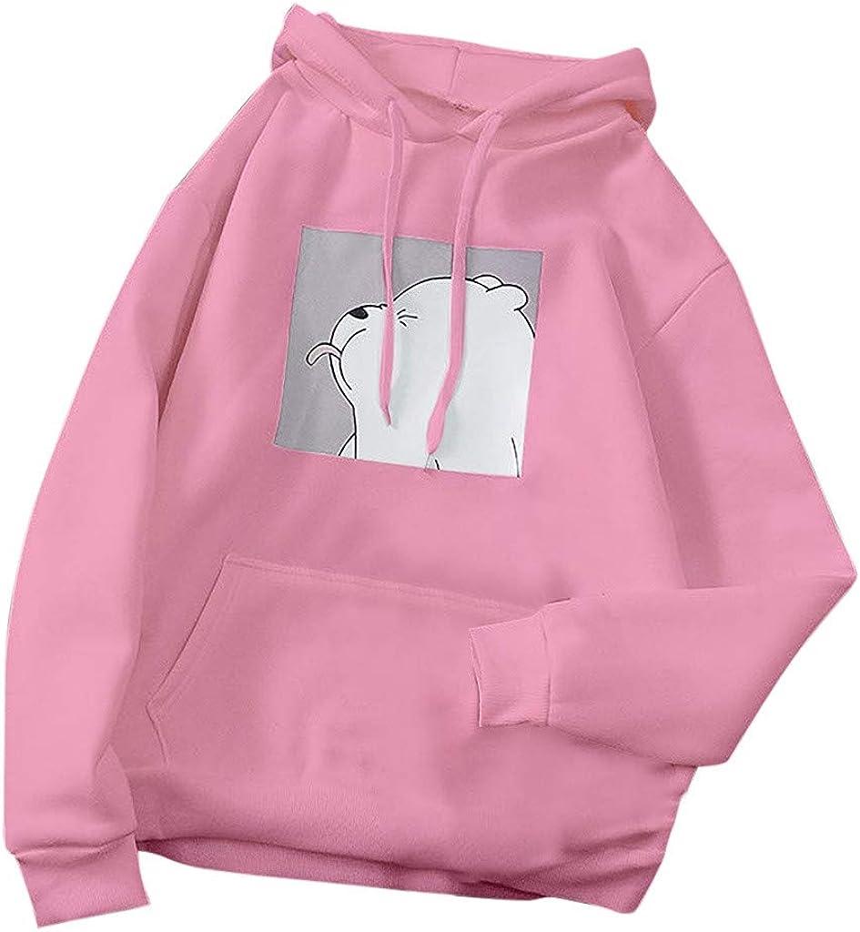 Frog Hoodies for Women, Women's Cute Sweatshirt Long Sleeve Tops Cartoon Cute Hoodies Teens Girls Casual Pullover