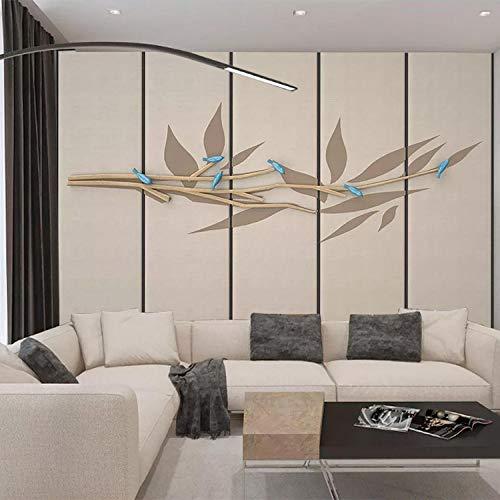 Bank achtergrond behang artistieke conceptie abstract blad leer kunst woonkamer slaapkamer studie achtergrond behang grijs muur sticker rand zelfklevende baksteen badkamer zilver bedr 150cm×105cm