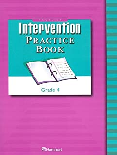Trophies: Intervention Practice Book (Consumable) Grade 4