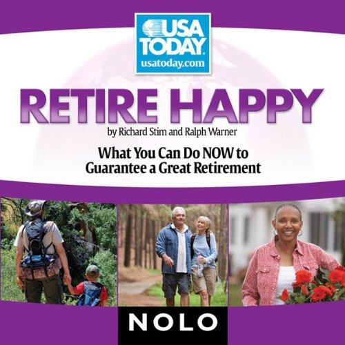 Retire Happy audiobook cover art