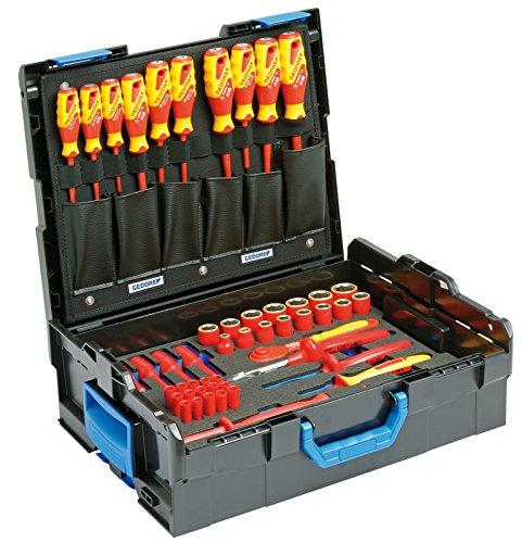 GEDORE 1100-1094 VDE-Werkzeugsortiment HYBRID 53-TLG in L-BOXX 136