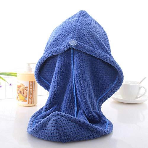 Bonnet de bain 2 pièces à séchage rapide et absorbant