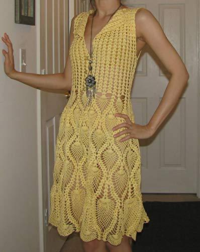 Brand new handmade kronecrochet Financial sales shipfree sale crochet dress midi custom order