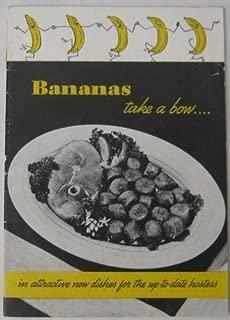 Bananas Take a Bow