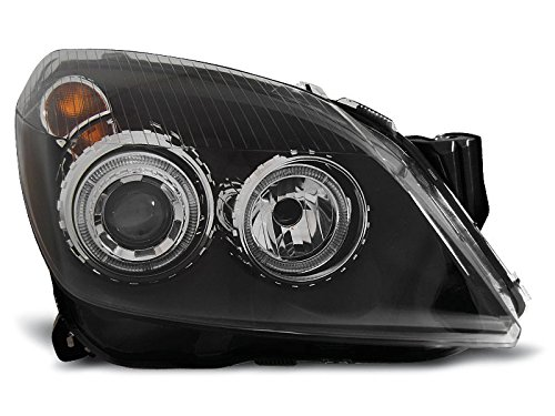 Koplamp Astra H 04-09 Angel Eyes zwart (P72)