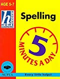 Spelling (Hodder Home Learning 5 Minutes a Day: Age 5-7)
