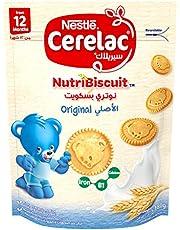 Nestle Cerelac NutribiscuitOriginal Bag, 180gm (Pack of 1)