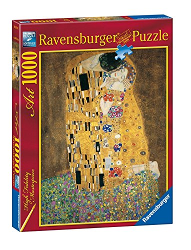 Ravensburger, Rompecabezas Klimt: el Beso, 1000 Piezas