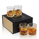 KANARS Bicchieri Whisky, Bicchiere Cocktail e Whiskey Cristallo, Bellissimo Regalo, Set di...