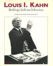 Writings, Lectures, Interviews by Louis I. Kahn (1991-06-25)
