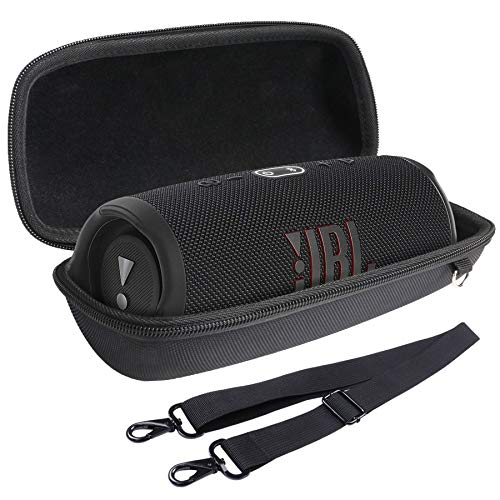 für JBL Charge 4/5 Bluetooth Lautsprecher Hart Taschen Hülle von Aenllosi (Schwarz Tasche)