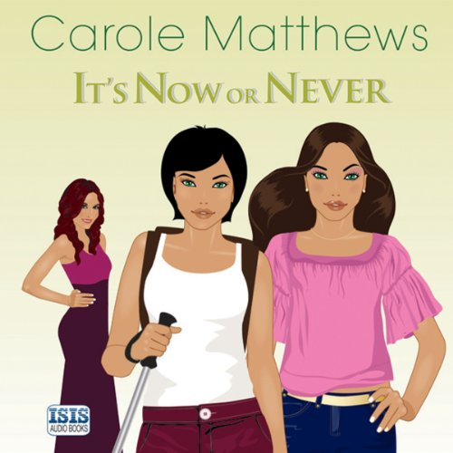 It's Now or Never audiobook cover art