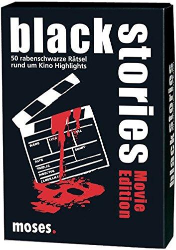 black stories - Movie Edition: 50 rabenschwarze Rätsel rund um Kino-Highlights