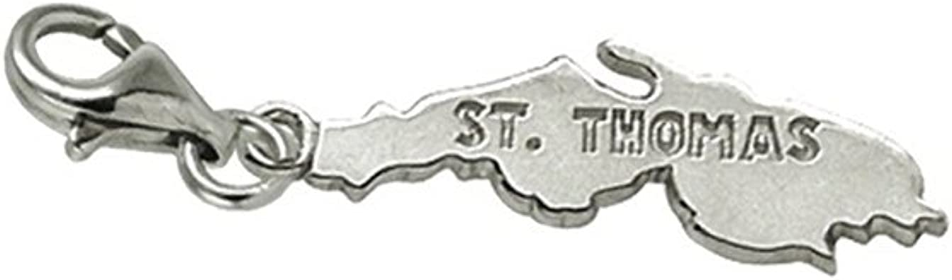 Stthomas Charm With Lobster Claw Price reduction and for Bracelets Clasp cheap Charms