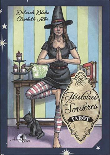 Tarot Histoires de Sorcières: Coffret comprenant un tarot de 78 cartes, un livre explicatif en couleurs de 218 pages et une boîte cloche