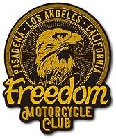 バイカーステッカー BIKER STICKER バイク ハーレー ヘルメット Freedom BK029 車 ステッカー 屋外OK
