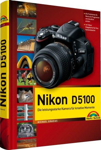 Nikon D5100: mit 12-seitiger Klappkarte (Kamerahandbücher)