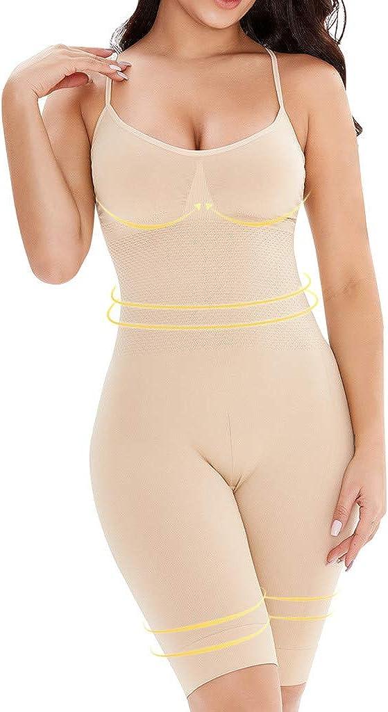 Forthery-Women Full Body Shaper Bodysuit Firm Control Shapewear Lifter Corset Shapewear