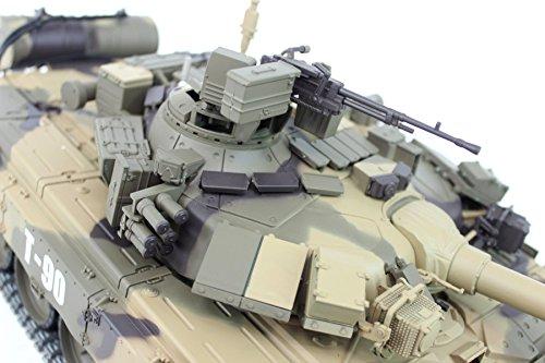 RC Kettenfahrzeug kaufen Kettenfahrzeug Bild 1: ES-TOYS Ferngesteuerter Panzer Russland T-90 Heng Long 1:16 mit Rauch&Sound und Metallgetriebe -2,4Ghz*