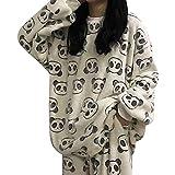 ShSnnwrl Pijama Mujer de Pijamas Hombre Conjunto de Pijamas...