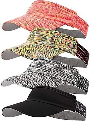 4 Pieces Visor Hat