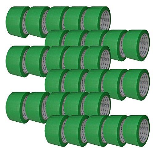 古藤工業 Monf No.812 養生用ポリクロステープ YG 幅50mm×長さ25m 30巻入り [マスキングテープ]
