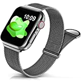Sunnywoo Metal Stainless Steel Band Compatible with...