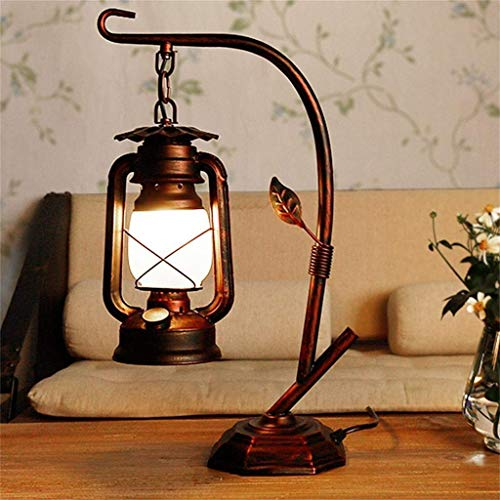 YQYL China Linterna Vintage Queroseno lámpara Dormitorio