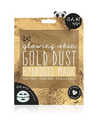 Oh K! Hydraterende gelmasker voor gezicht – hydrogelmasker met gouden stofzuiger.