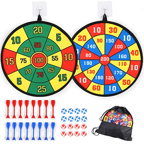 (40% OFF) 2 Pack Dartboards for Kids $9.59 – Coupon Code
