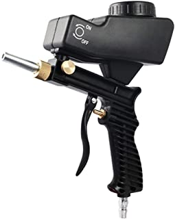 Sablier pneumatique Abrasif Portable Pistolet /à sable Pistolet /à sable /à air portatif pour enlever la peinture /à la rouille Outils /électriques