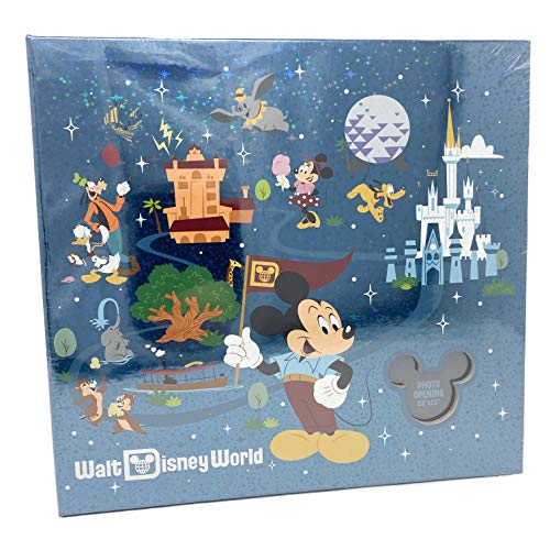Walt Disney World Mickey & Friends Medium Photo Album Holds 200 Photos
