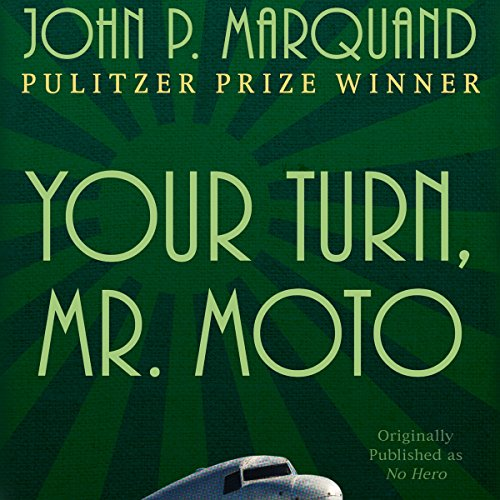 Your Turn, Mr. Moto audiobook cover art