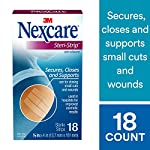 Nexcare steri-strip wound closure, secures and closes small cuts and wounds, alternative to butterfly bandages, 1/2 inch… 8 skin closure secures used in hospitals for improved cosmetic results breathable for added comfort