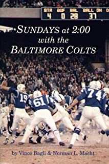 Sundays at 2:00 With the Baltimore Colts