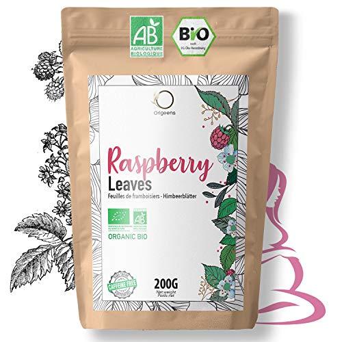 ☘️ Te Hojas de Frambuesa Organico 200g | Cura Bienestar Te Hojas Frambuesa: Infusion Final del Embarazo, Tila Lactancia, Reglas dolorosas | Raspberry Leaf Tea