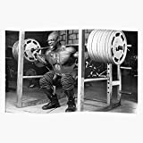 Bargaineddeals Powerlifting Squatting Training Muscles Mr