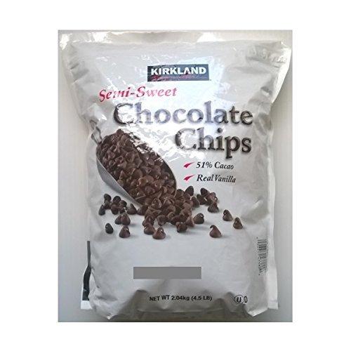 Kirkland Semi Sweet Chocolate Chips 2 x 2.04kg