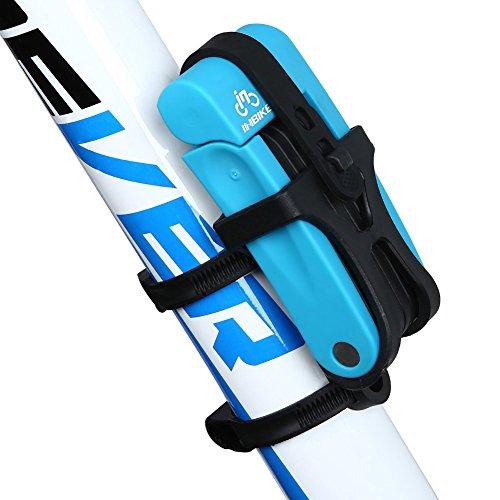 INBIKE 8 Joints Alloy Steel Folding Bike Lock Anti-Hydraulic with Mounting Bracket